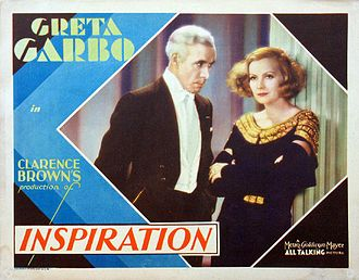 Inspiration (1931 film) - Lobby card for the film
