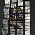 Interieur, detail van glas-in-lood raam - Brielle - 20371712 - RCE.jpg