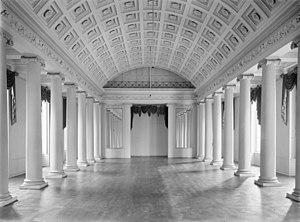 Kneuterdijk Palace - Image: Interieur driebeukige balzaal 's Gravenhage 20086893 RCE