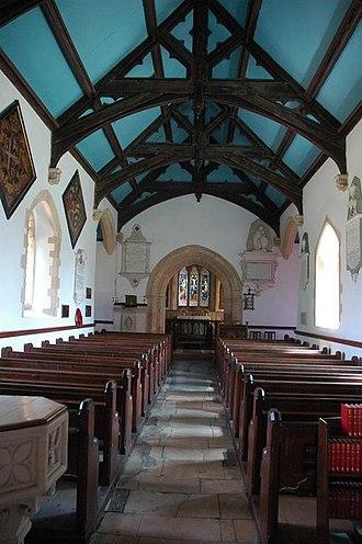 Adlestrop - Image: Interior of Adlestrop Church geograph.org.uk 901378