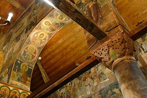 Interior of the church of St Stephen in Nesebar 03