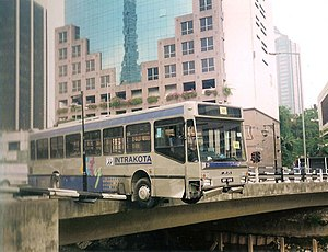 Prasarana Malaysia - An Intrakota bus accident in KL, 1997.