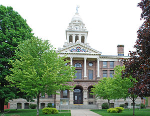 Ionia County, Michigan - Image: Ionia County Couthouse Ionia Mi
