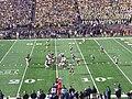 Iowa vs. Michigan football 2012 04 (Michigan on offense).jpg