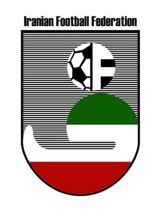 Football Federation Islamic Republic of Iran - Image: Iran Football Federation Logo 1970s