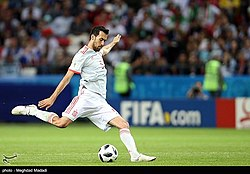 Iran and Spain match at the FIFA World Cup (2018-06-20) 35