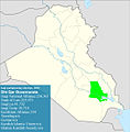 Iraqi parliamentary election, 2010 result-Dhi Qar.jpg