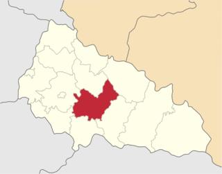 Irshava Raion Raion in Zakarpattia Oblast, Ukraine