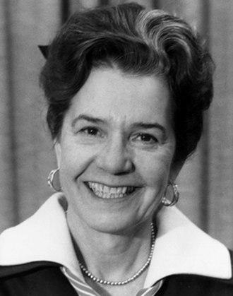 Isabel Burgess - Isabel Burgess, NTSB Member (1969 - 1976)