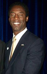 Isaiah Washington w 2008 roku.