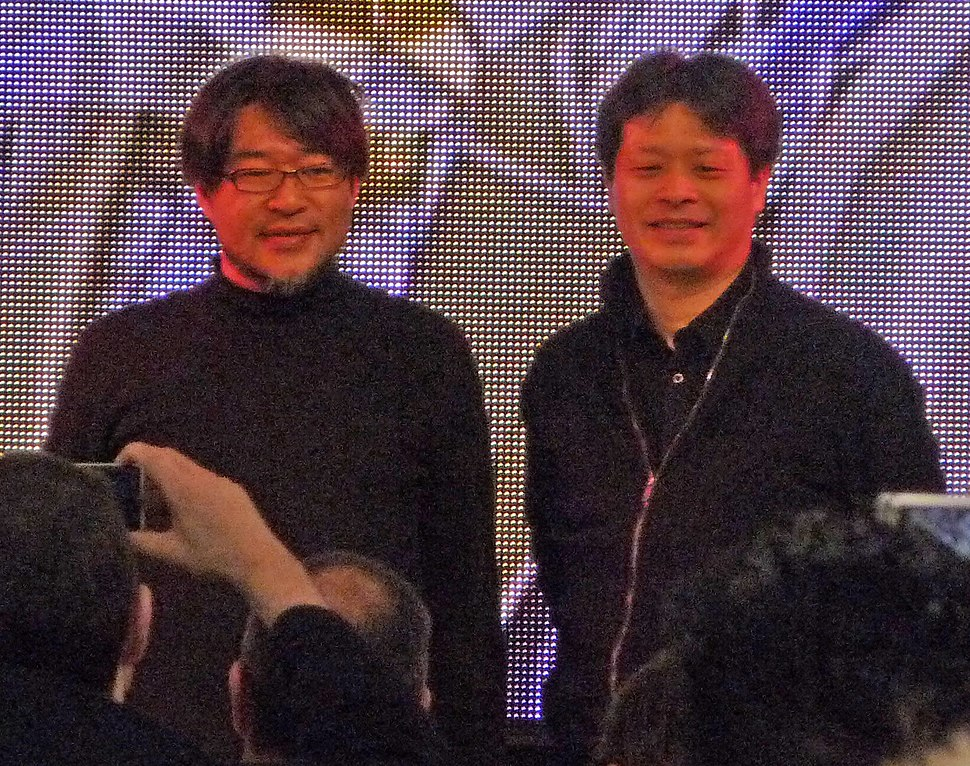 Isamu Kamikokuryo and Yoshinori Kitase