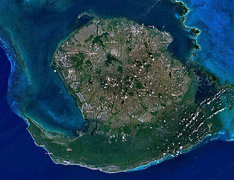 Isla de la Juventud - Satellite image of the island