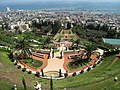 Israel, Haifa, Bahá'í gardens, view from the top (002).JPG