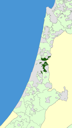 Israel Map - Drom HaSharon Regional Council Zoomin.svg