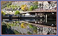 It would be easy to miss the Shoshone dam in Glenwood Canyon I got some nice reflections in these shots so i got lucky.. - panoramio.jpg