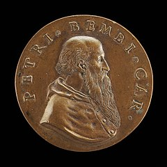 Pietro Bembo, 1470-1547, Cardinal 1538, Venetian Philologist, Poet and Belletrist [obverse]