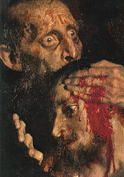 Ivan the Terrible & son - detail