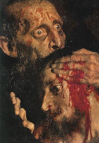 Vsevolod Garshin - Image: Ivan the Terrible & son detail
