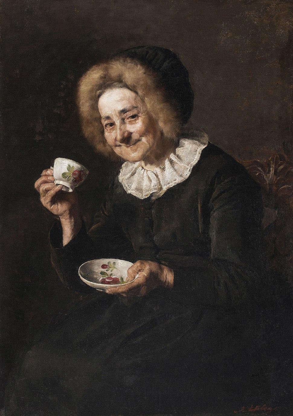 Ivana Kobilca - Kofetarica