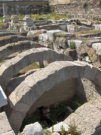 Konak, İzmir - Section of the Agora