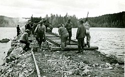Jämsä–Orivesi railway under construction.jpg