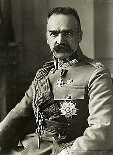 Józef Piłsudski Polish politician, First Marshall, and Prime Minister (1867–1935)