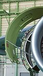 JASDF C-2(68-1203) CF6-80C2K1F turbofan engine(right wing, cowl open) fan cowl door front view at Miho Air Base May 28, 2017.jpg