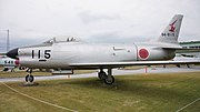 JASDF F-86D(84-8115) left side view at Tsuiki Air Base November 26, 2017.jpg