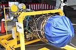 JMSDF US-2 Rolls-Royce AE2100J turboprop engine left rear view at MCAS Iwakuni May 5, 2019.jpg