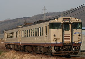 West Japan Railway Company - Image: JRW Tsuyama express train