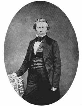 Nebraska City, Nebraska - J. Sterling Morton, ca. 1858