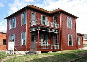 National Register of Historic Places listings in Boone County, Missouri - Image: JW Boone House