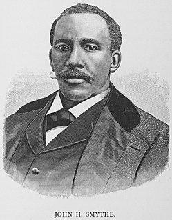 John H. Smythe American diplomat