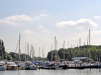 Nieuwendam - Image: Jachthaven Nieuwendam