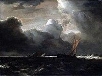Jacob van Ruisdael - Stormy Sea Nationalmuseum.jpg