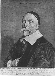 Jacobus Revius Dutch poet, Calvinist theologian and church historian