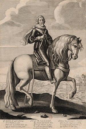 Jacques-Nompar de Caumont, duc de La Force - Equestrian portrait of Jacques Nompar de Caumont La Force, Marshal of France