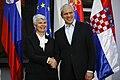 Jadranka Kosor and Boris Tadić in 2010 07.jpg