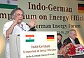 Jairam Ramesh addressing at the Indo-German Symposium on Energy Efficiency organized by Ministry of Power and Federal Ministry for Economic Cooperation and Development.jpg