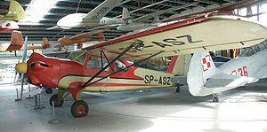 Yakovlev Yak-12 - Yak-12 (basic model) at the Polish Aviation Museum