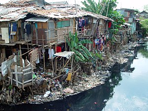 Squatters in the Philippines ...