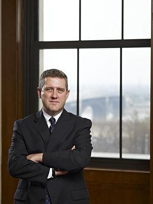 English: James Bullard, president of the Feder...