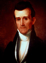 Portrait of Polk before his presidency.