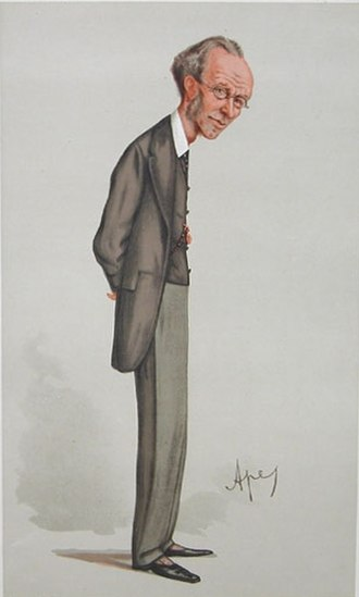 "James Payn - ""The Heir of the Ages"" Payn as caricatured by Ape (Carlo Pellegrini) in Vanity Fair, 8 September 1888"