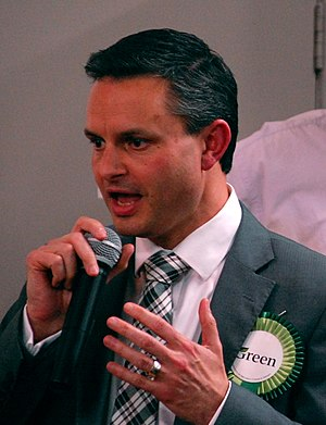 Green Party of Aotearoa New Zealand - Male co-leader James Shaw