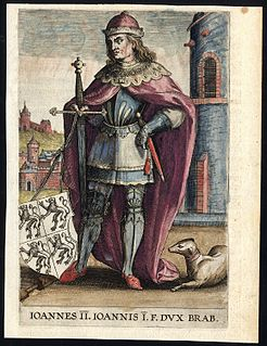 John II, Duke of Brabant 13th and 14th-century duke of Brabant