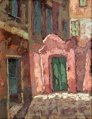Jan Bohuszewicz - Image: Jan Bohuszewicz Brama w słonku 1927
