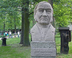 Johann Dzierzon - Bust of Jan Dzierżoń, National Museum of Agriculture in Szreniawa