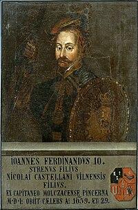 Jan Ferdynand Sapieha. Ян Фэрдынанд Сапега (1709).jpg