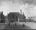 Jan ten Compe - Marketplace at Haarlem, Looking towards the Town Hall - KMSsp685 - Statens Museum for Kunst.jpg
